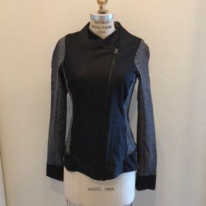 Lululemon black and grey jacket (size 10)